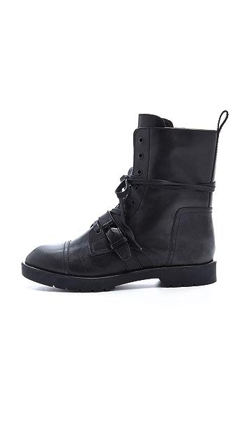 Alexander Wang Daria High Combat Boots