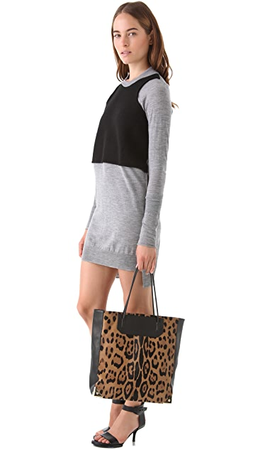 Alexander Wang Prisma Haircalf Tote