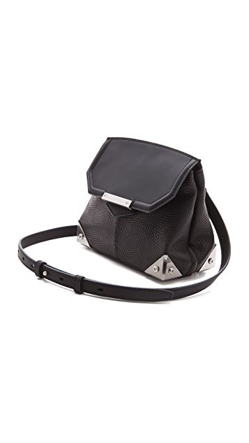 Alexander Wang Printed Lizard Marion Bag