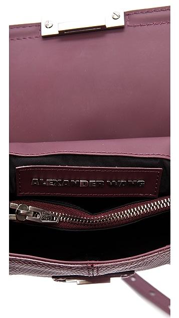 Alexander Wang Printed Lizard Marion Bag