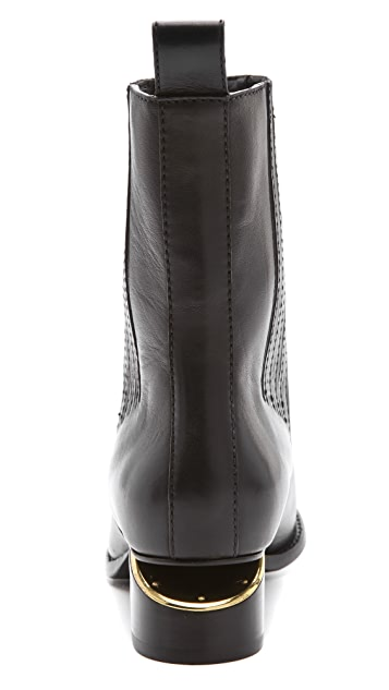 Alexander Wang Anouck Chelsea Boots with Brass Hardware