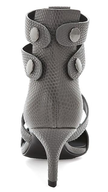 Alexander Wang Tati Lizard Print Pumps