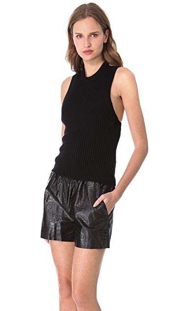 Alexander Wang Back Strap Sweater Tank