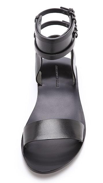 Alexander Wang Alek Ankle Cuff Sandals
