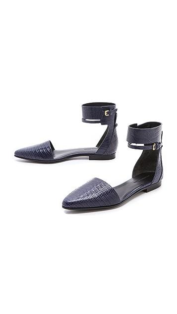 Alexander Wang Elsa Ankle Cuff Flats