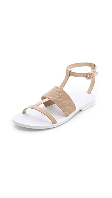 Alexander Wang Cara Flat Sandals