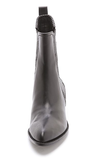 Alexander Wang Anouck Chelsea Booties with Tonal Hardware