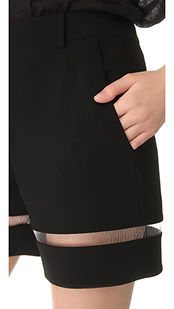 Alexander Wang Fishline Boy Shorts
