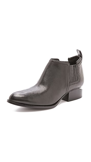 Alexander Wang Kori Ankle Booties with Matte Hardware