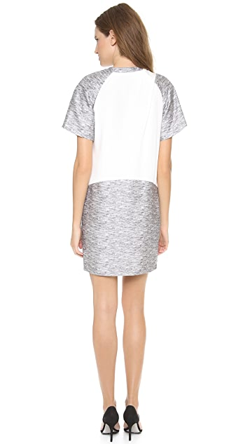 Alexander Wang Drape Neck T-Shirt Dress