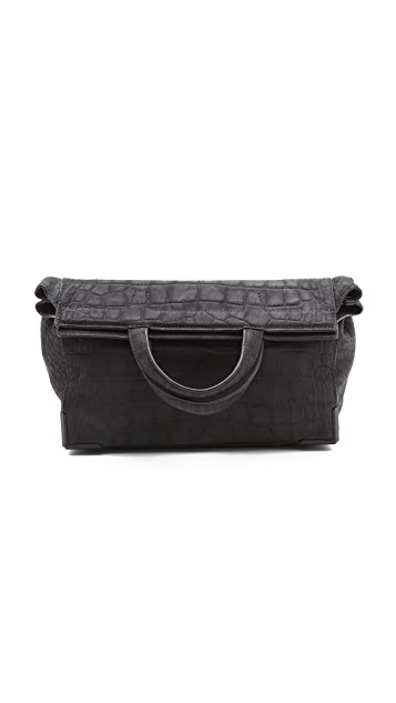 Alexander Wang Prisma Skeletal Lunch Clutch