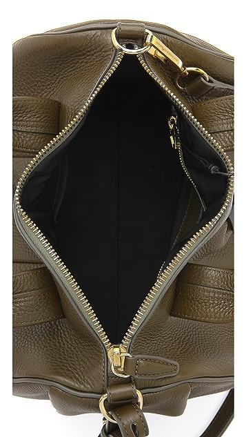 Alexander Wang Rocco Dumbo Slick Duffel Bag