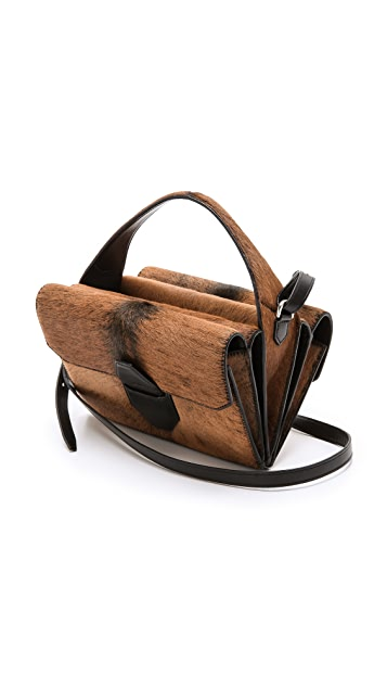 Alexander Wang Fur Racketeer Sling Bag