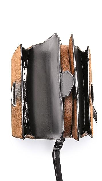 Alexander Wang Fur Racketeer Sling Bag