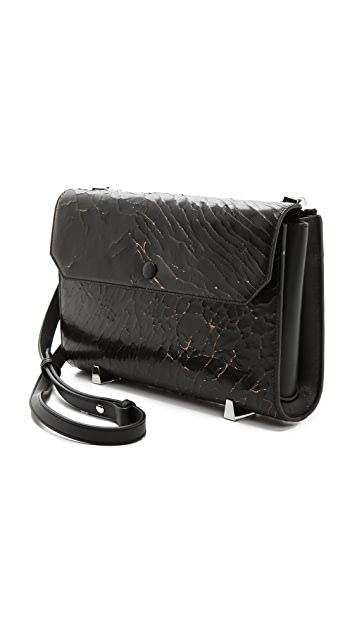 Alexander Wang Chastity Cracked Clutch