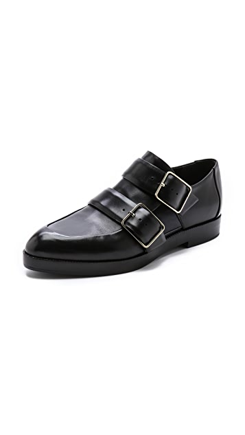 Alexander Wang Jacquetta Monk Strap Oxfords