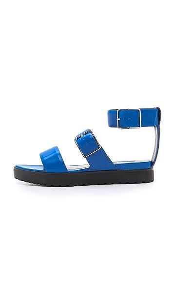 Alexander Wang Kira Ankle Strap Sandals