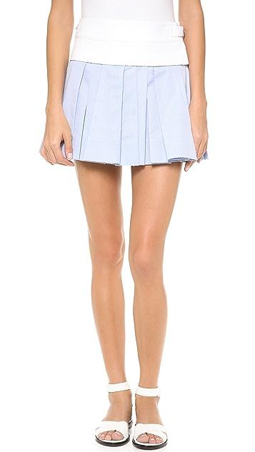 Alexander Wang Irregular Pleated Skirt