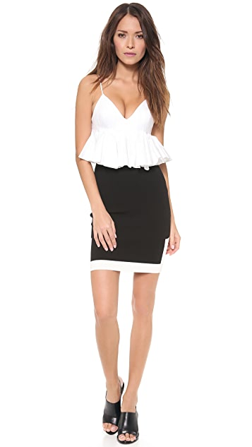 Alexander Wang Graphic Block Pencil Skirt
