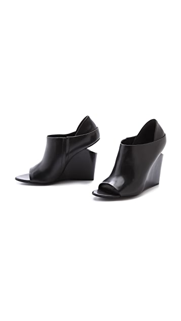 Alexander Wang Alla Open Toe Wedges