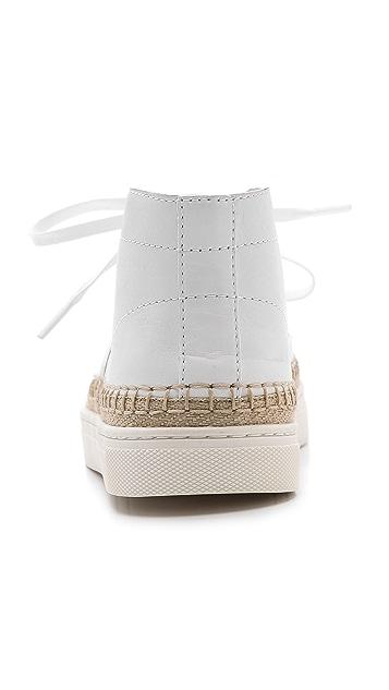 Alexander Wang Jess High Espadrille Sneakers