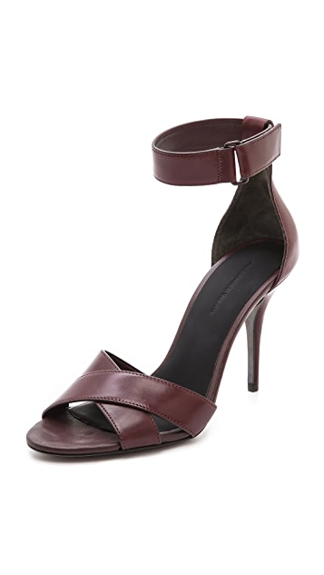 Alexander Wang Drielle Ankle Strap Sandals
