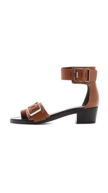 Alexander Wang Jeisa Ankle Strap Sandals