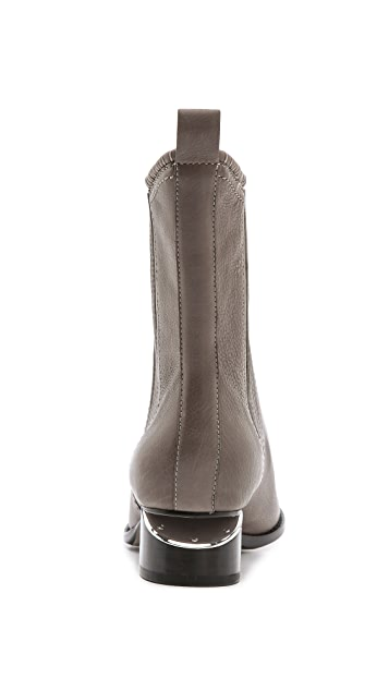 Alexander Wang Anouck Chelsea Boots with Rhodium Hardware