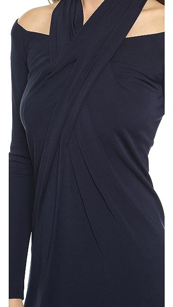 Alexander Wang Long Sleeve Shoulderless Dress