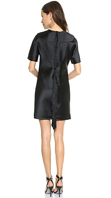 Alexander Wang Fringe Back Dress