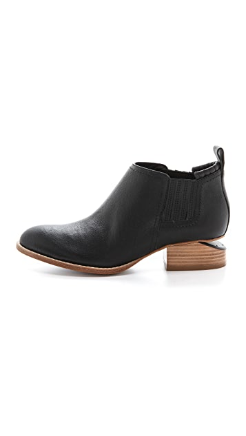 Alexander Wang Kori Ankle Booties with Natural Heel