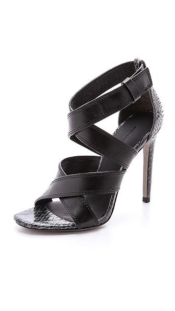 Alexander Wang Linda Cross Strap Sandals