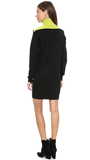 Alexander Wang Turtleneck Sweater Dress