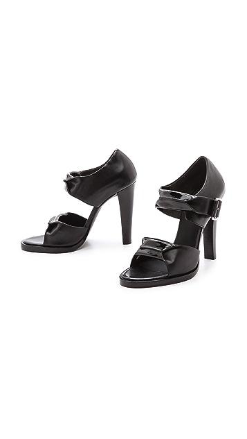 Alexander Wang Kai Rubberized Sandals