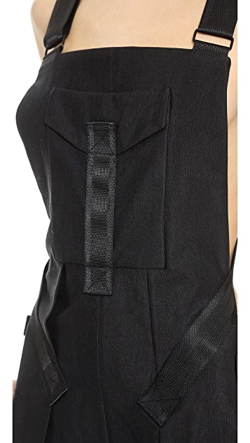 Alexander Wang Backless Overalls