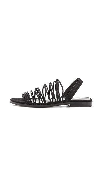 Alexander Wang Tessa Suede Sandals