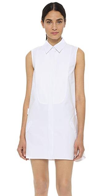 Alexander Wang Платье-рубашка с заниженной талией