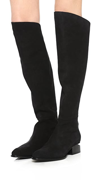 Sigrid Tall Suede Boots
