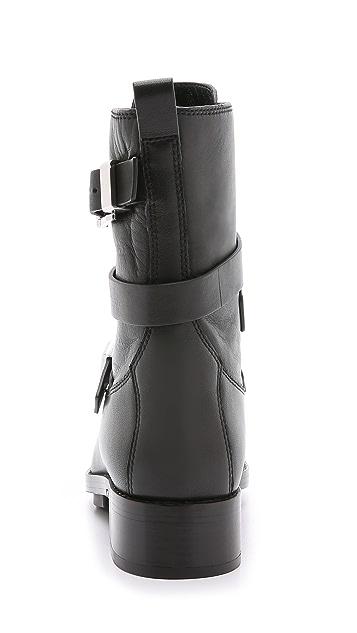 Alexander Wang Louise Motorcycle Boots