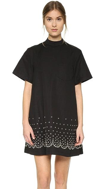 70c198df632f5 Alexander Wang Mock Neck T-Shirt Dress | SHOPBOP