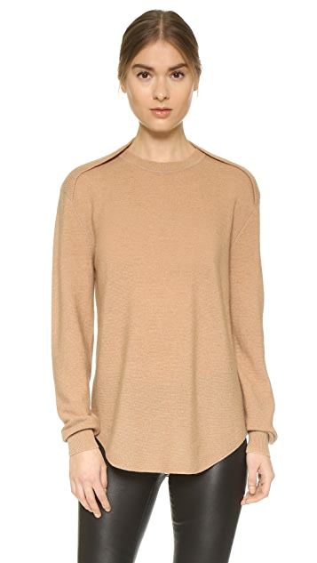 Alexander Wang Sheer Back Sweater