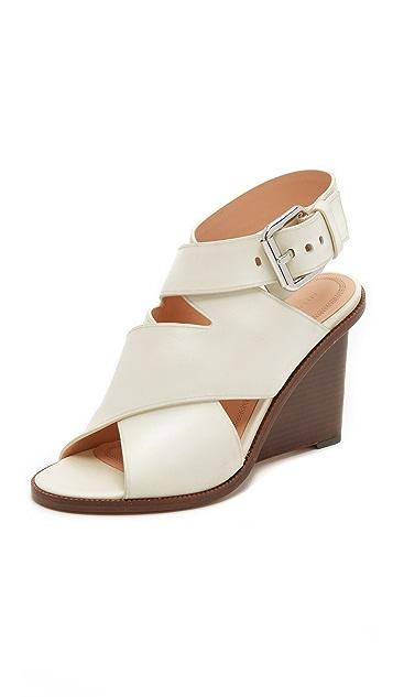 Alexander Wang Elisa Wedge Sandals