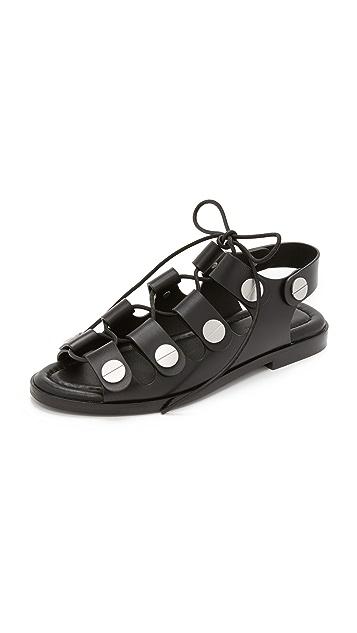 9779cc9b58a4 Alexander Wang Patricia Gladiator Sandals