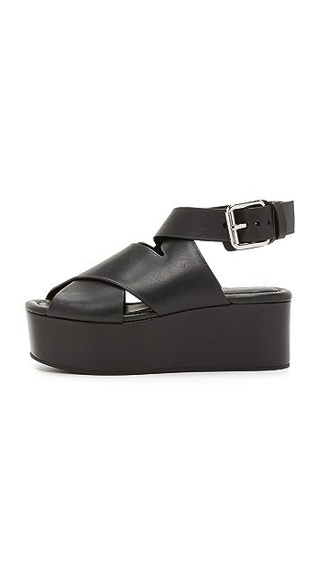 Alexander Wang Rudy Flatform Sandals