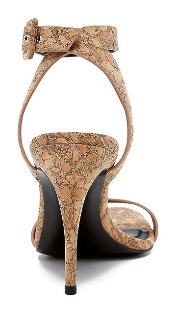 Alexander Wang Atalya Cork Sandals