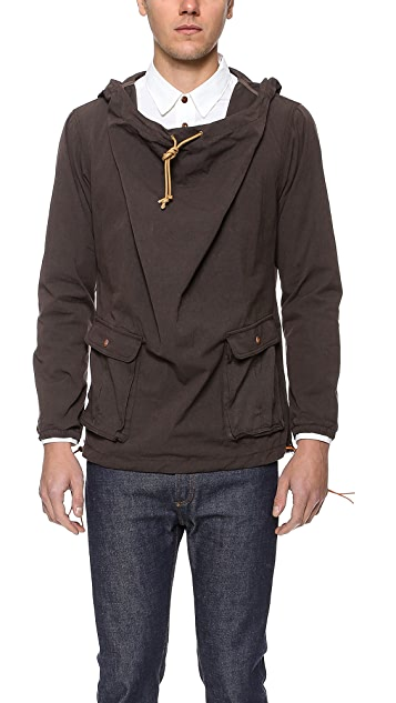 AXS Folk Technology Wide Neck Anorak