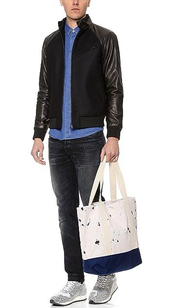 AXS Folk Technology Tote Bag