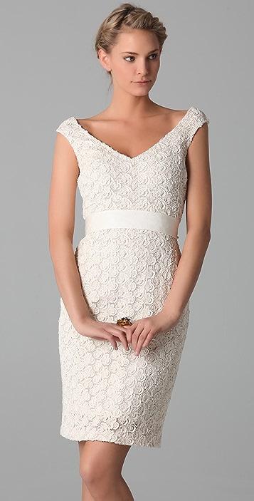 Badgley Mischka Collection Sleeveless Cocktail Dress