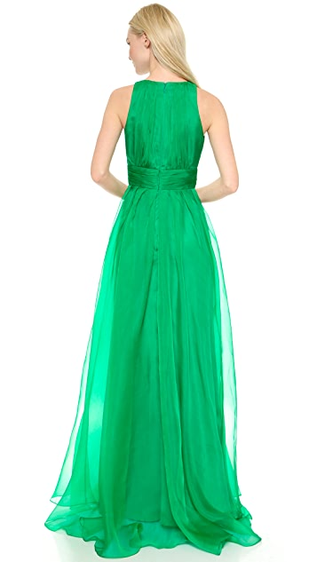 Badgley Mischka Collection Organza Ball Gown