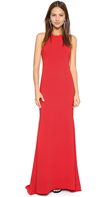 Badgley Mischka Collection Halter Odessa Gown